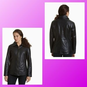❤Excelled Women's Lamb Leather Jacket❤
